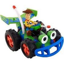 Woody Carro Pizza Planeta Pull N Go Mattel. Juguetiness