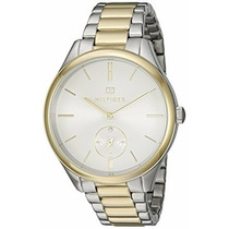 Reloj Para Mujer Quartz Two Tones Th- 1781577 Tommy Hilfiger