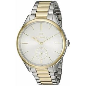 Reloj Para Mujer Quartz Two Tones Th- 1781577 Tommy Hilfiger