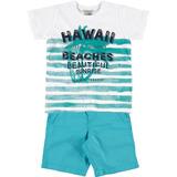 Conjunto Camiseta Bermuda Hawaii Malwee