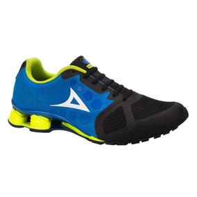 Tenis Pirma 511| Hombre Running- Fitness Azul | Envío Gratis