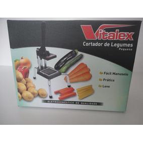 Maquina Cortar Batata Palito Vitalex Top De Linha