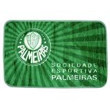 Tapete Times Futebol Palmeiras 0,80m X 1,20m Jolitex Beira