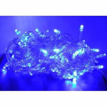 Pisca Pisca Azul De Led Natal Natalino 100 Lampadas