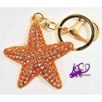Estrella Mar Llavero Bisutería Accesorio Bolso Moda Navidad