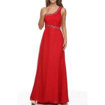 Vestido De Fiesta Juliet Modelo 1172 # Xs Color Red