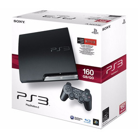 Consola Ps3 Chip 160gb Outlet Con 2 Joysticks + 10 Games