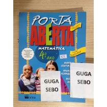 Porta Aberta Matemática 4ºano,edição Renovada, Nova Ortograf
