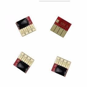 Kit 4 Chip Cartucho Hp 950 951 P/ Officejet Pro 8100 8600
