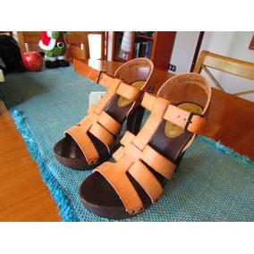 Zapatos Altos Alma Estilo Bimbobl Talla 38