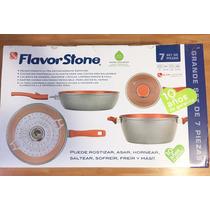 Flavor Stone 7 Piezas Grandes El Mas Completo Meses Sin Inte