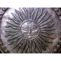 Medallon Sol De La 1era Moneda Patria Asoc. Numismatica Arg