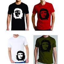 Remera Che Guevara 100 % Algodón Vinilo Termotranferible