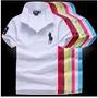 Kit 05 Camisas Gola Polo Masculino .tommy . Lacoste Rauf La