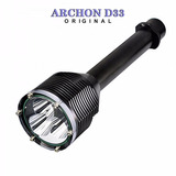 Lanterna Archon D33 3000 Lúmens Mergulho 100 M Original