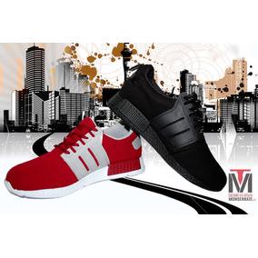 Tenis Hombre Adi Yeezy 3 Zapato Deportivo Vinotinto Y Negro