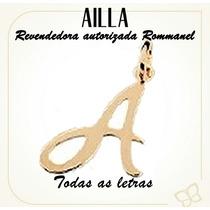 Rommanel Pingente Formato Letra Lisa (alfabeto). Med 540675