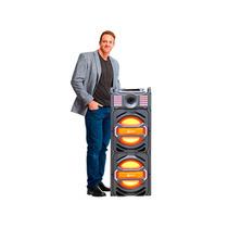 Caixa Amplificadora Rádio Fm Mp3 Usb Sd Bluetooth Aux 1000w