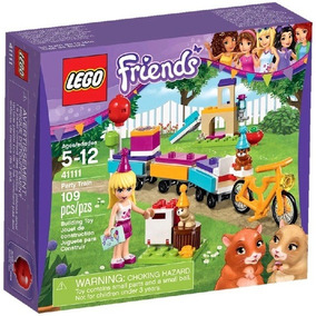 Lego Friends Tren De Fiesta De Cumpleaños - 41111- Original
