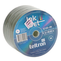 Cd-r Teltron 52x Imprimible Blanco Bulk X 50 Precio Unit