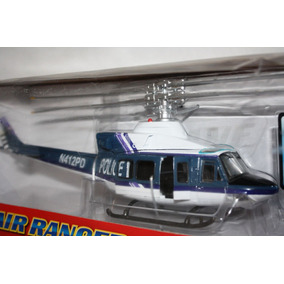 Helicoptero Policia Fast Lane Air Ranger 1/48 Newray Diecast