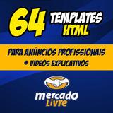 64 Templates + Videos Anúncio Profissional Mercadolivre