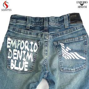 Calças Jeans - Aj Armani Jeans Empório Armani 100% Original