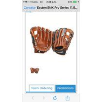 Guante Beisbol Easton Emk Pro Series 11.5 Zurdo Nuevo