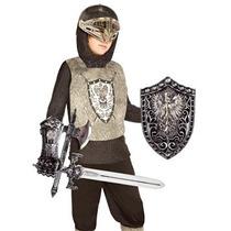 Disfraz Niño Palamón - Knight (plata) Conjunto De Prendas I