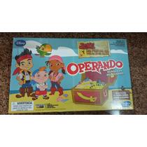 Juego De Mesa Operando De Jake Y Los Piratas Hasbro