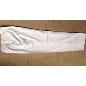 Pantalón Portsaid De Vestir Color Crema. No Fue Usado
