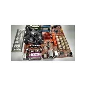 Kit Placa Mãe 775 Ddr1 + Processador Celeron / Pentium 4