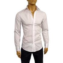 Camisa Emporio Armani Talle S 100% Algodon Made In Italy