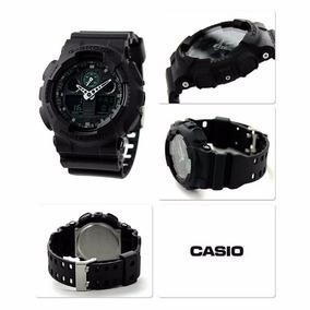 Casio G-shock Ga100mb-1a Black Ga100 Series Large Case Analo