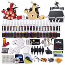 Kit De Tatuar 2 Maquinas 40 Color Fuente De Poder