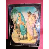 Quadro Religioso Maria,josé,menino Jesus/ Antigo