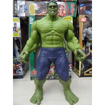 Boneco Hulk The Avengers 30cm C/ Luz E Som - Articulado