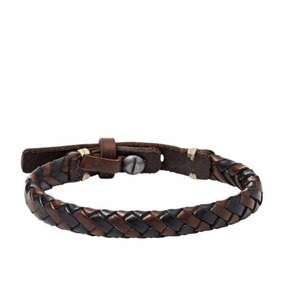 Fossil Casual Vintage Leather Bracelet