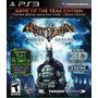Jogo Ps3 Batman Arkham Asylum 3d - Goty Edition