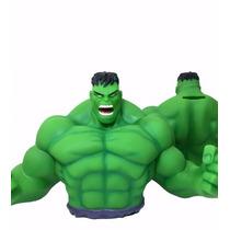 Hulk Marvel Busto Alcancia 100% Original