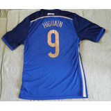 Camiseta Argentina 9 Higuain Copa Del Mundo 2014 Ho