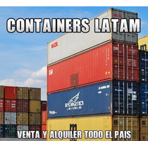Contenedores Maritimos - Containers 20 Y 40 Pies