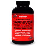 Carnivor Beef Aminos 300 Tabs. Musclemeds Proteina De Carne