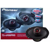 Par Alto Falante Voz Pioneer 6x9 Ts-6900pro 2vias 600w 12x.