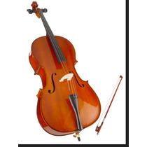 Violoncelo Stewart 4/4,3/4 U Excelente Qualidade E Sonoridad