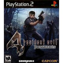 Resident Evil 4 Português Com Codigos Patch Ps2 Desbloqueado