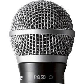 Globo Metálico Para Microfone Shure Pg58