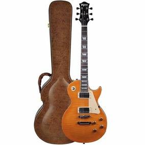Guitarra Tagima Special - Tlp Flamed - Transparent Amber