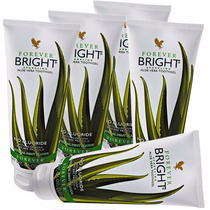 Kit C/ 5 Pasta Dente Forever Bright Toothgel Atacado Menor $