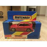 Miniatura Opel Kadett Gsi Vermelha - Matchbox - 1/64